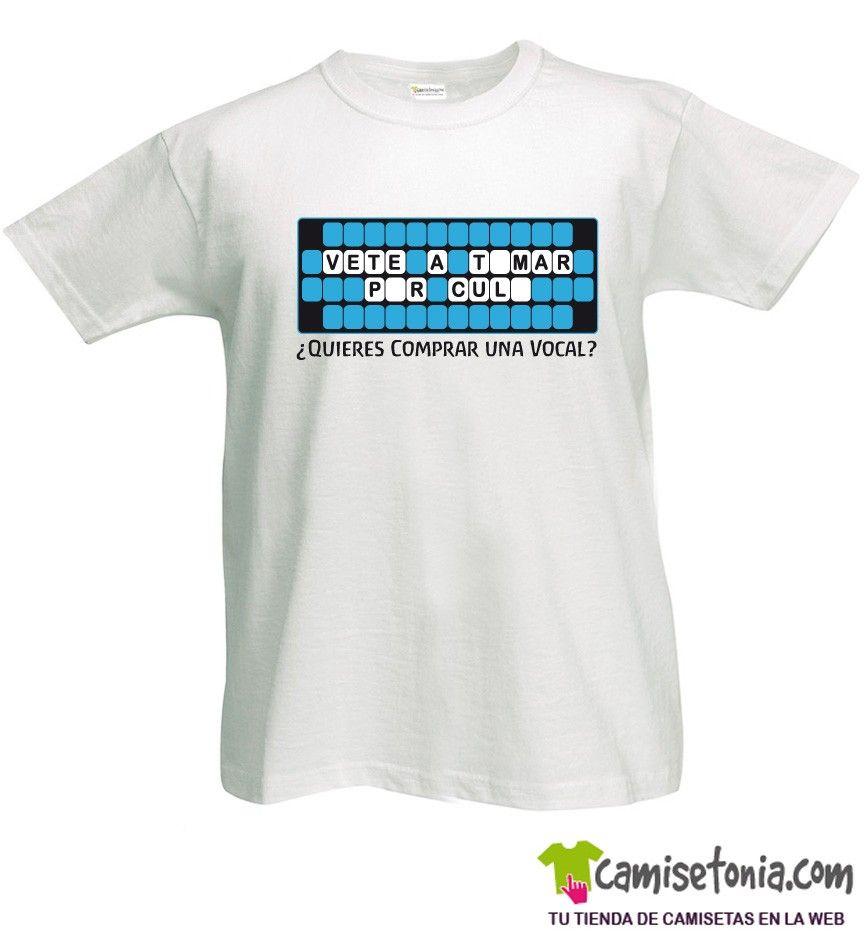 Camiseta Quieres Vocal Blanca Hombre