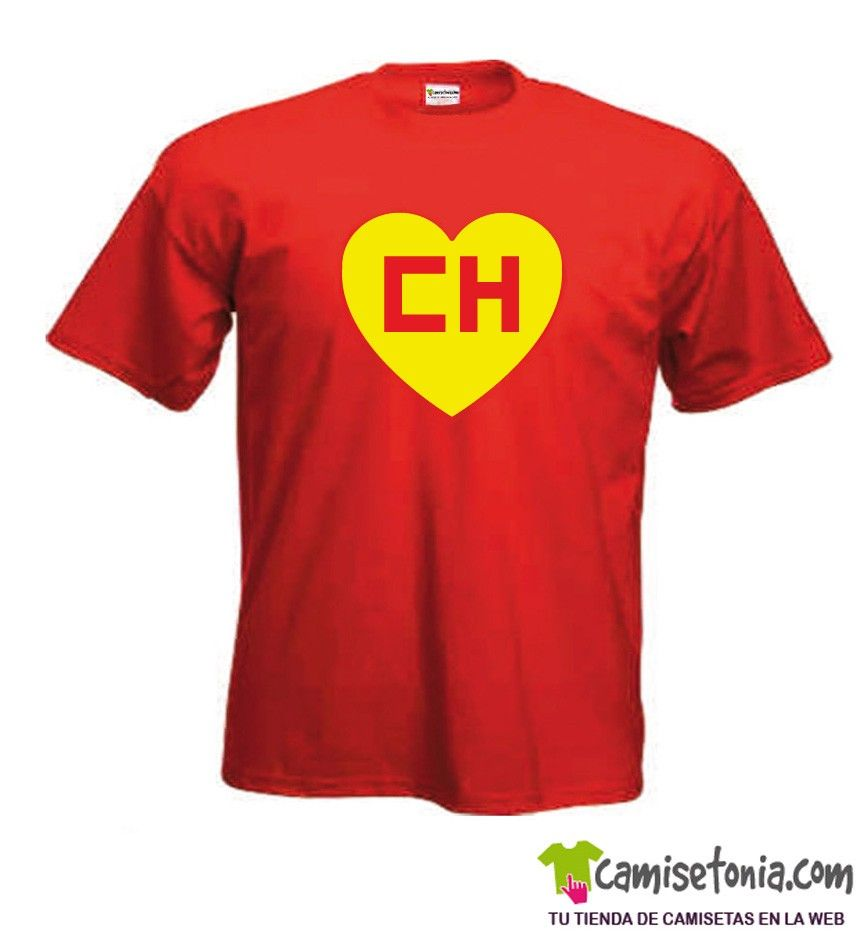Camiseta Chapulín Colorado Roja Hombre