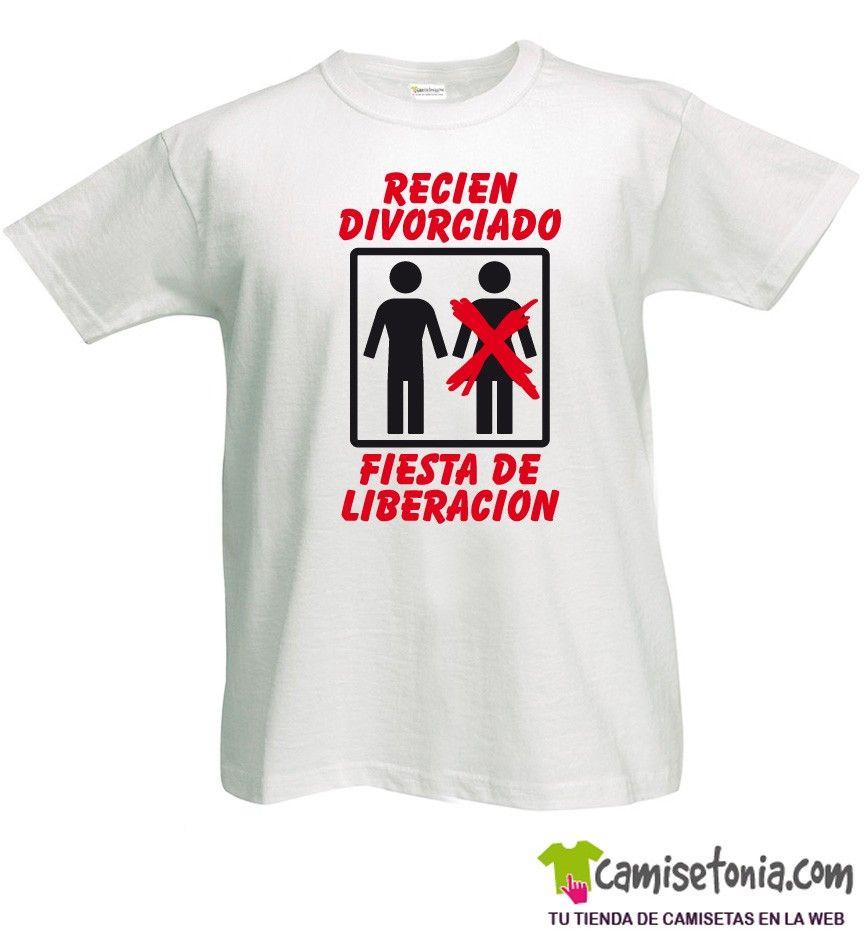 Camiseta Recién Divorciado Blanca