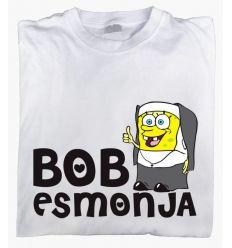 Camiseta Bob es Monja