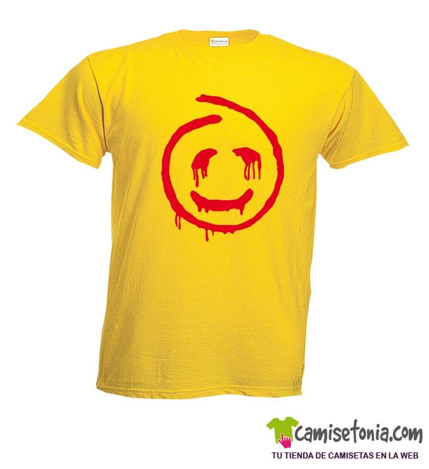 Camiseta John El Rojo / El Mentalista Amarilla Hombre