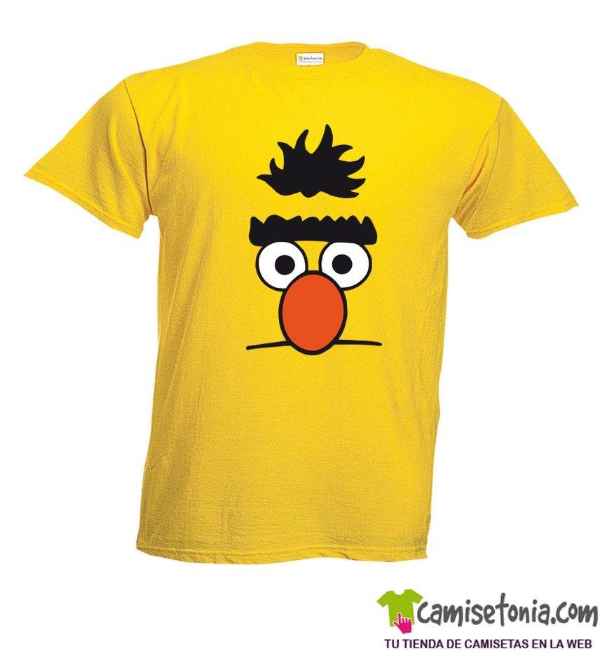 Camiseta Blas Barrio Sesamo Amarilla Hombre