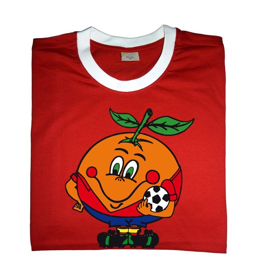 6ced3eea391 Camiseta Naranjito Retro