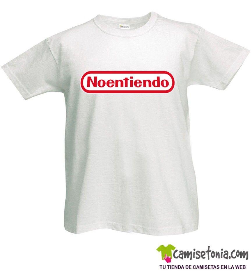 Camiseta Noentiendo Blanca Hombre