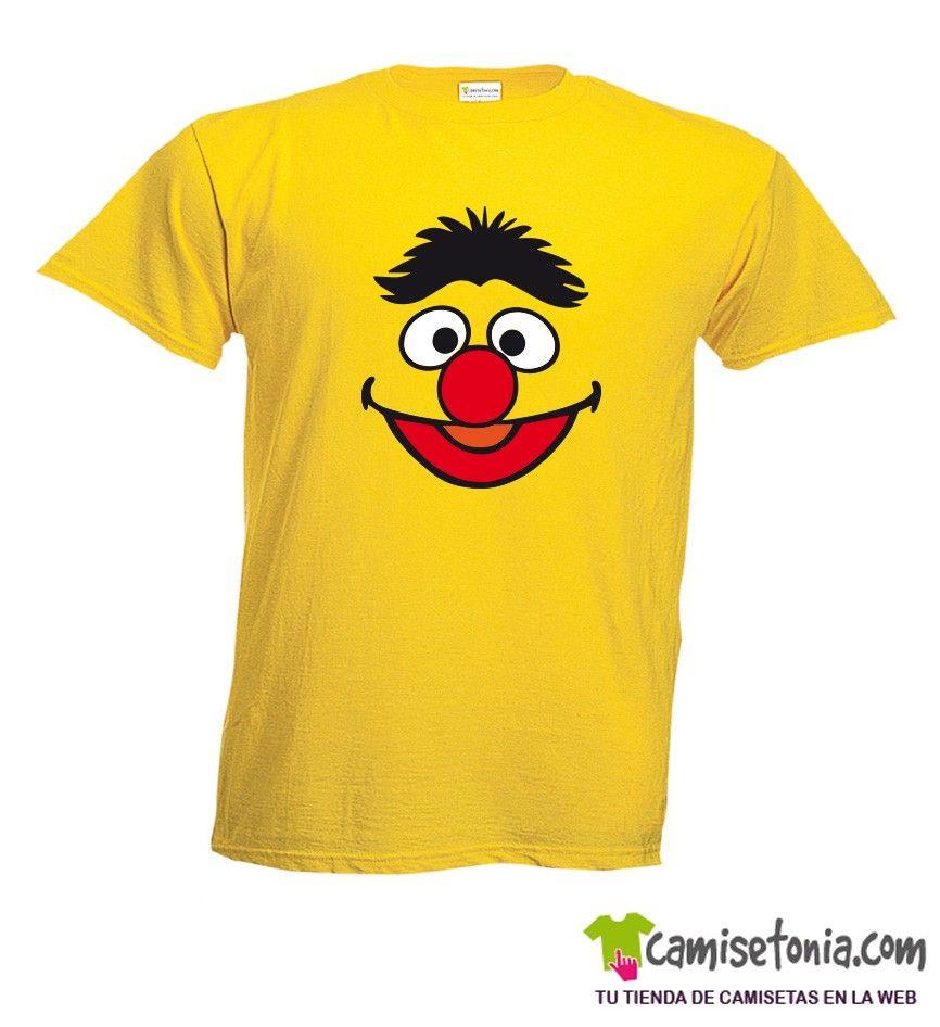 Camiseta Epi Barrio Sesamo Amarilla Hombre