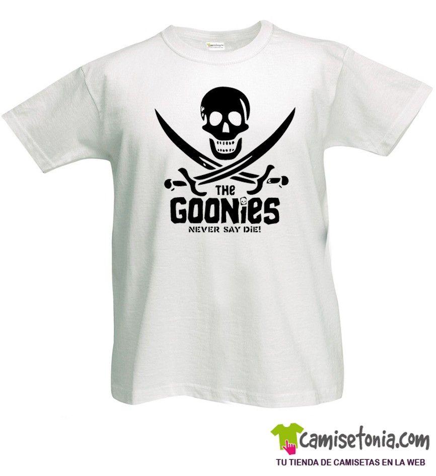 Camiseta The Goonies Blanca Hombre