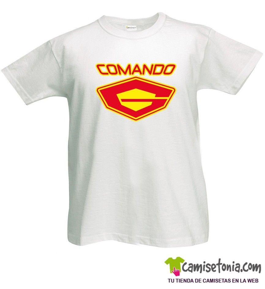 Camiseta Comando G Blanca Hombre