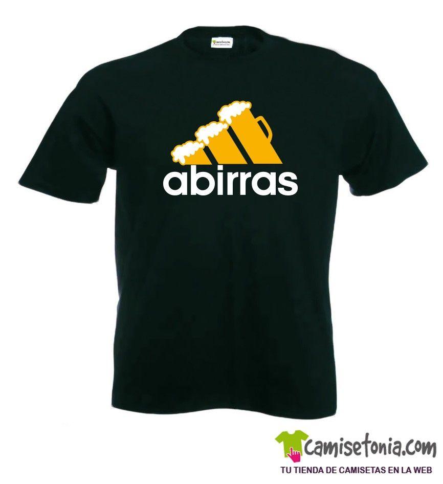 Camiseta Abirras Negra Hombre