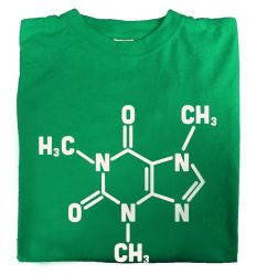 Camiseta Cafeina Big Bang Theory