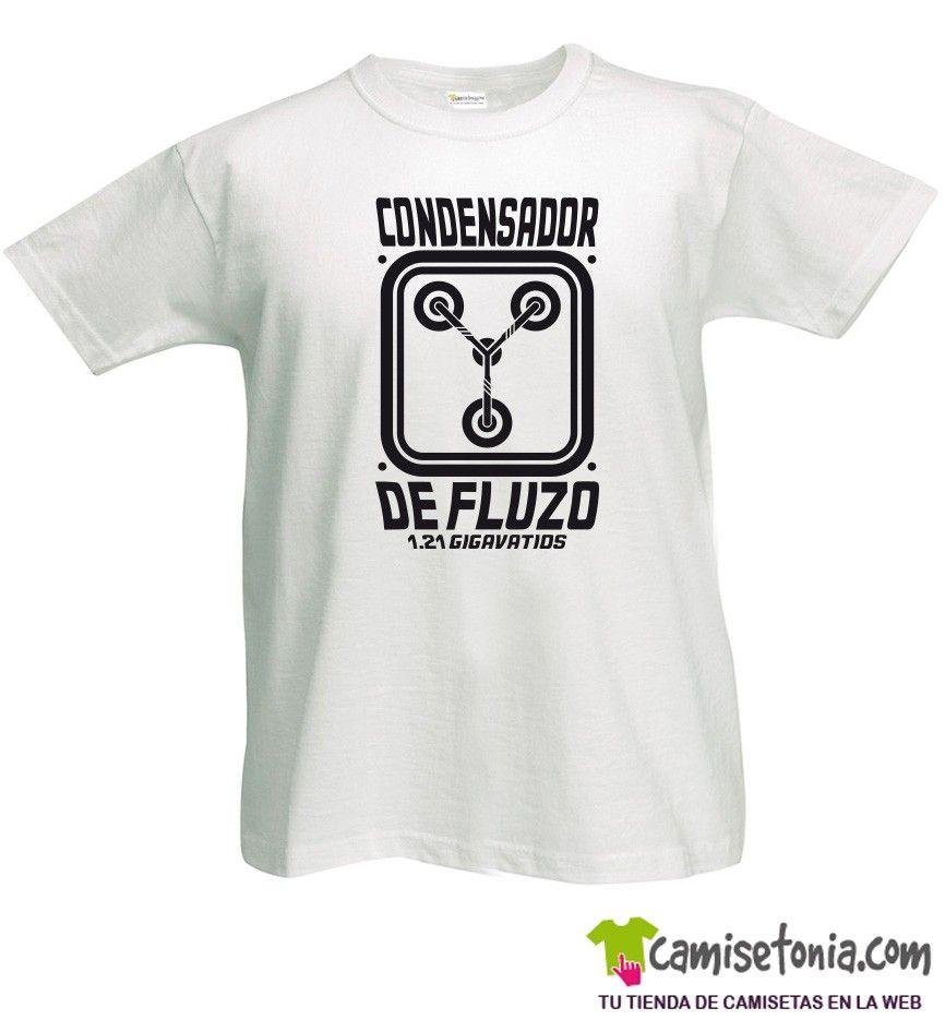 Camiseta Condensador de Fluzo Blanca Hombre