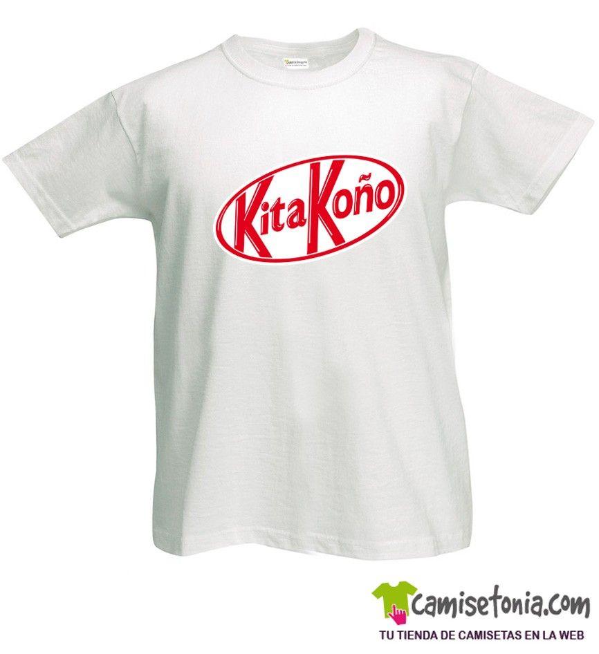 Camiseta Kita Koño Blanca Hombre