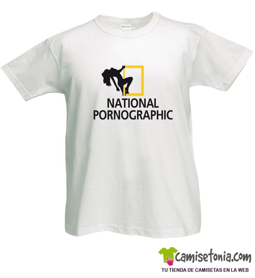 Camiseta National Pornographic Blanca Hombre