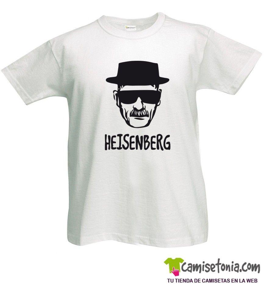 Camiseta Heisenberg Blanca Hombre
