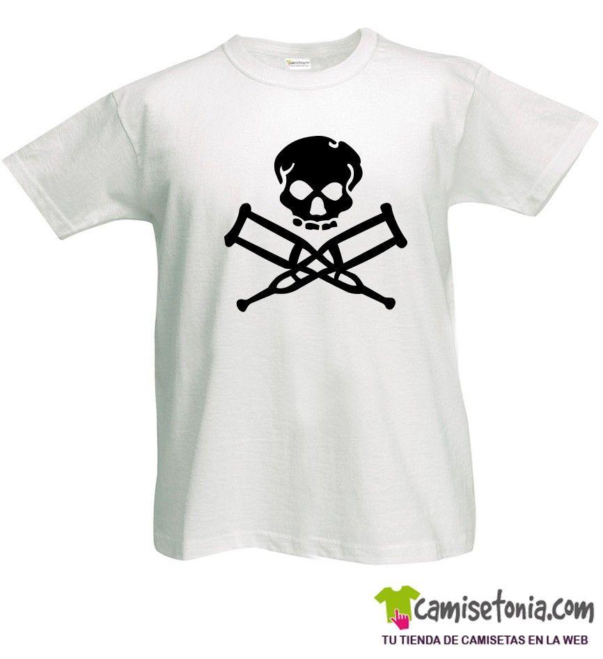 Camiseta Jackass Blanca Hombre