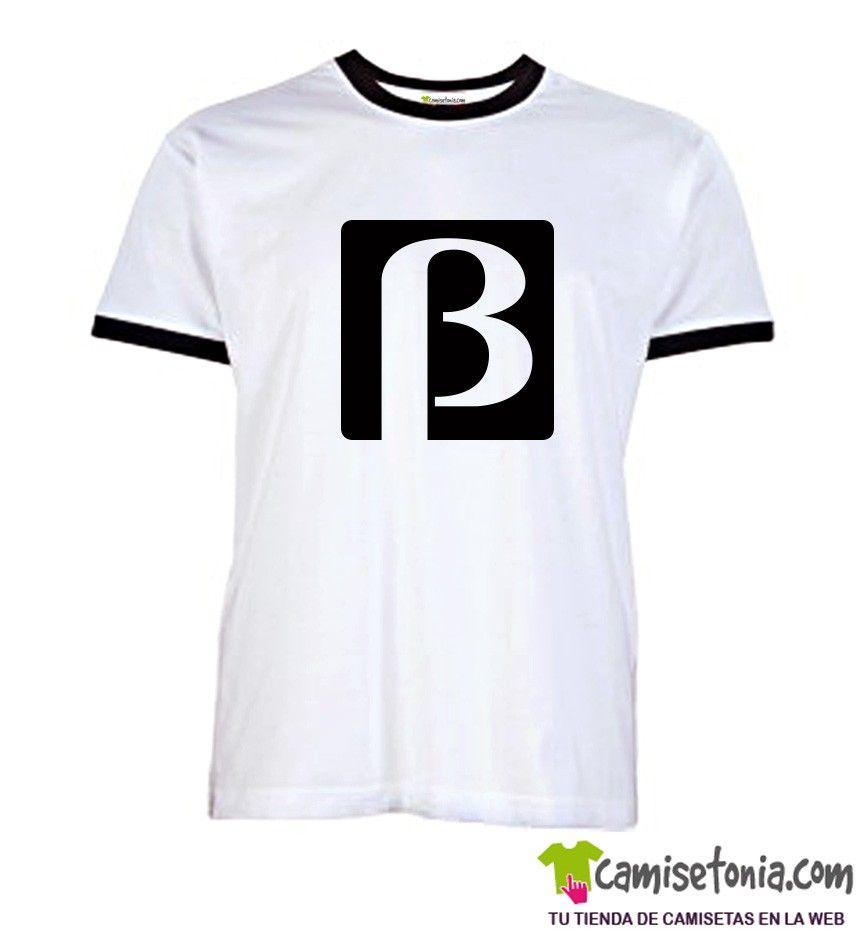 Camiseta Sistema Beta Blanca Ribetes Negros