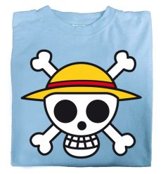 Camiseta Calavera Luffy One Piece
