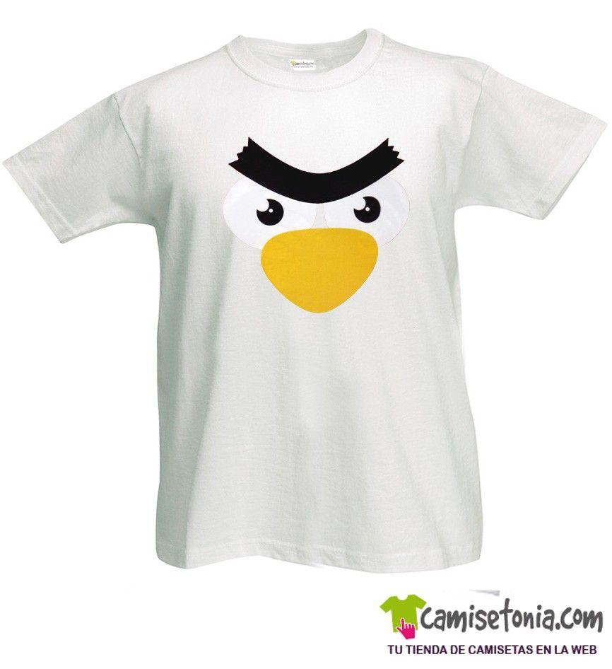 Camiseta Pollo Cabreao Blanca Hombre