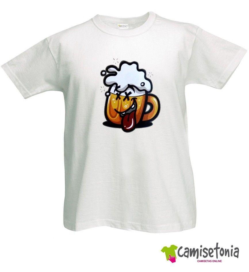 Camiseta Cerveza Divertida