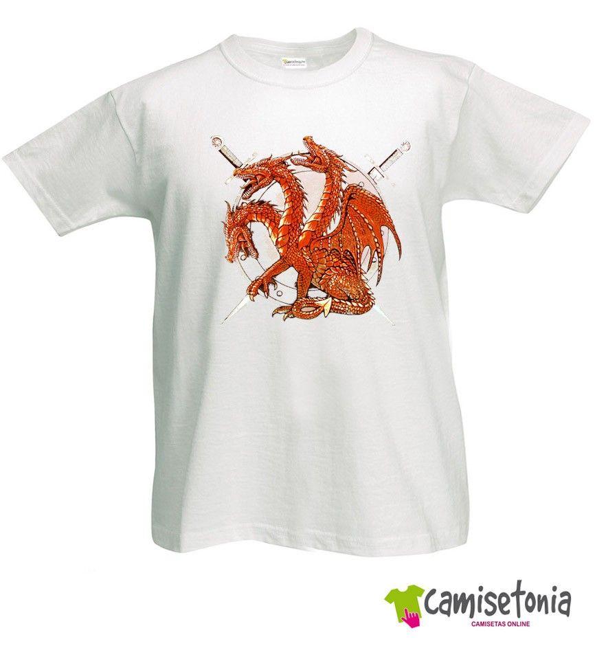 Camiseta Dragones Khaleesi Juego de Tronos
