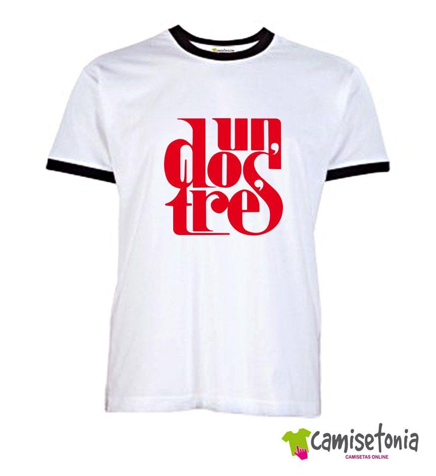 Camiseta Un Dos Tres