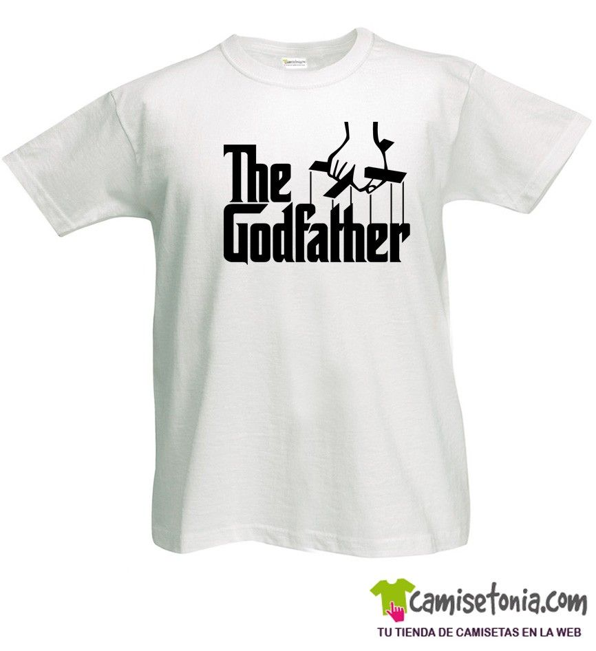 Camiseta The Godfather / El Padrino Blanca Hombre
