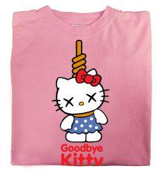 Camiseta Goodbye Kitty