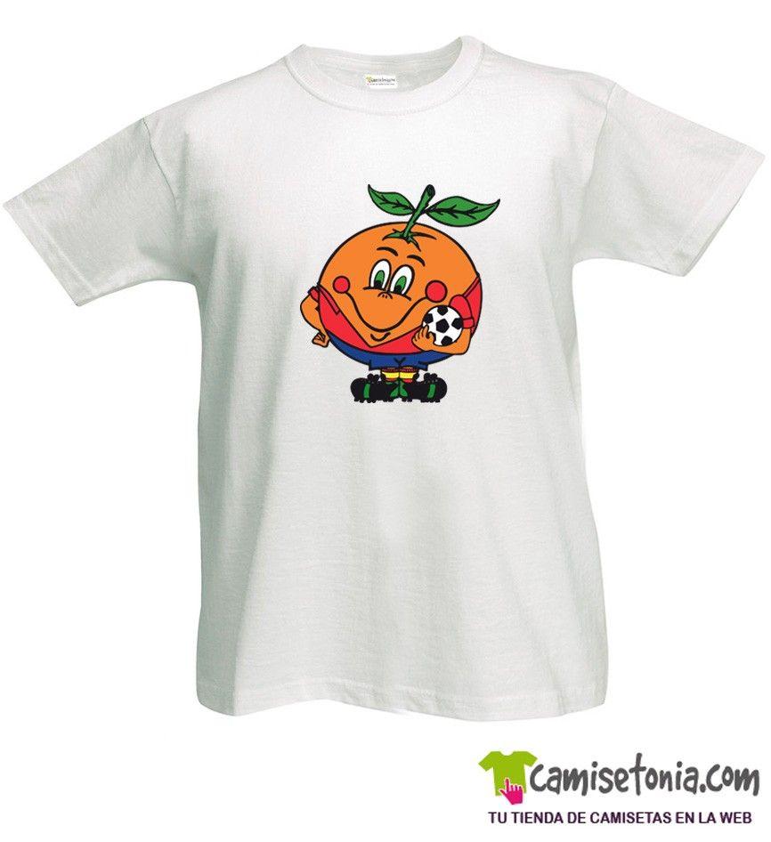 Camiseta Naranjito Blanca Hombre