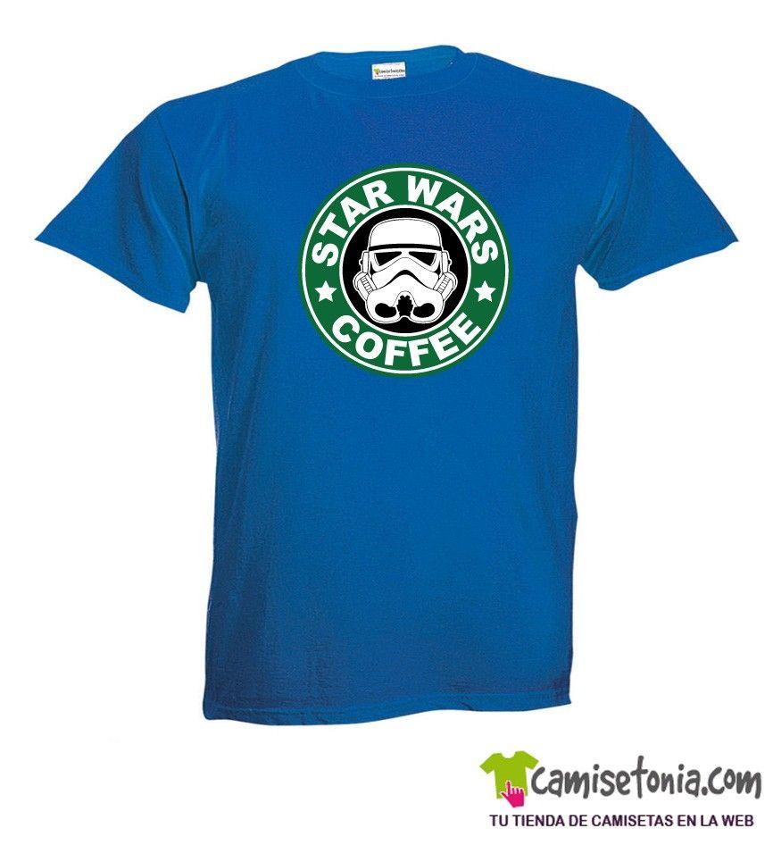 a9cbe849f La camiseta más original y divertida del Star Wars Coffee.